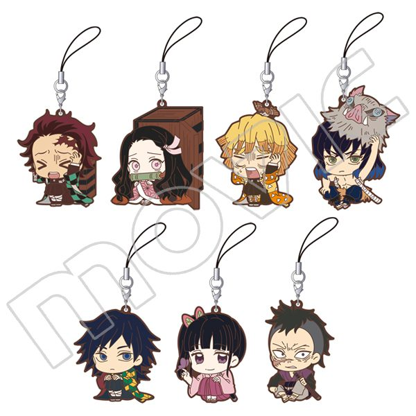Kimetsu no Yaiba ViVimus Rubber Strap Collection